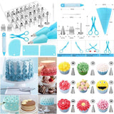 42 pieces kit for cake decorating