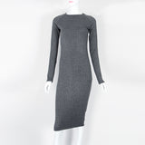 Autumn Spring  Long Sleeve Dress for Women