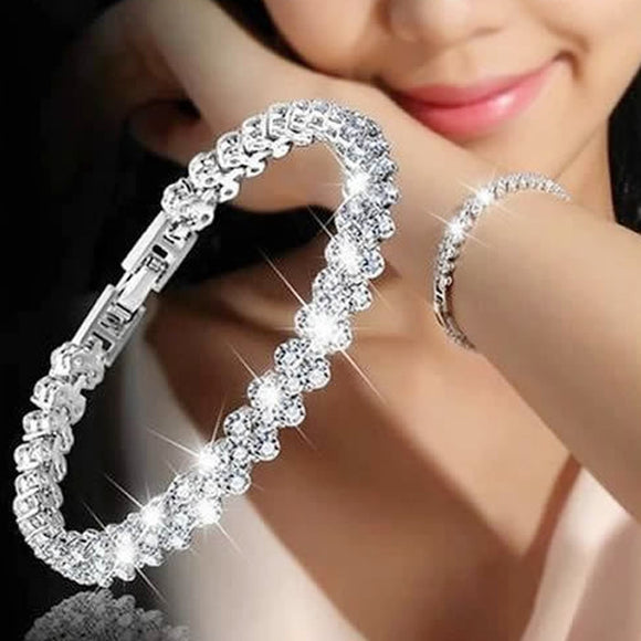 Luxury Vintage Crystal Bracelets For Women