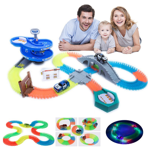 Magical Track Glowing Race  Toys For Children