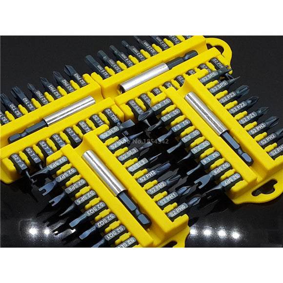 Security Tamper Proof Torx Hex Star Bit Set Magnetic Holder