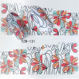 Blooming Flower Stickers for Nails