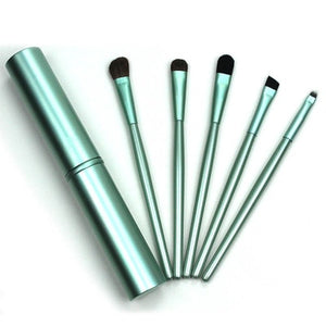 Travel Portable Mini Eye Makeup Brushes Set