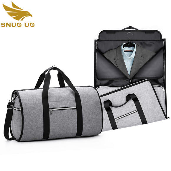New 2 in 1 Travel bag For Duffle Multifunction Garment Duffle Bag Durable Men Business Trip Travel Bag Suit luggage Organizer