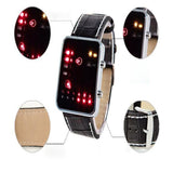 Fashion Lovers' Digital Red LED Sport Watches Electronic Wristwatch