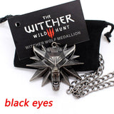 The witcher  wild hunt Wolf head necklace