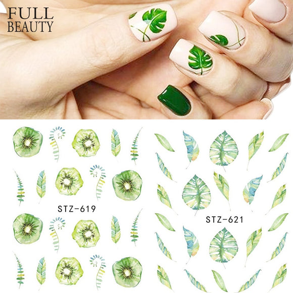Fruit Water Slider Nail Sticker