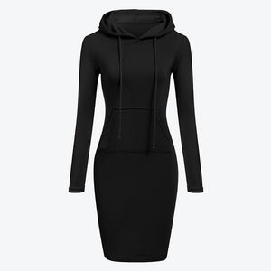 Long Dress Hoodie new Winter factions