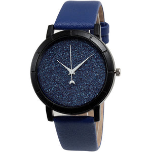 Moon Stars Men Watch