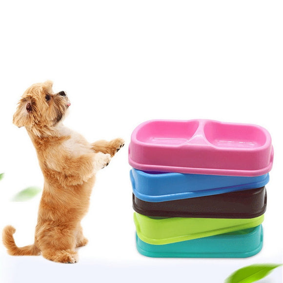 Bowls For Dog Puppy Kitten Cats Food Water Feeder