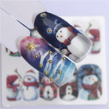 Nail Art sticker Christmas Tattoo