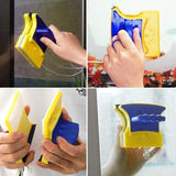 Magnetic Window Cleaner Brush