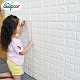 Self Adhesive 3D Foam Wallpaper For Kids Room