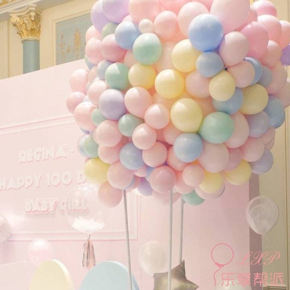 Latex Balloon Macaron Color Wedding Decoration Valentine's Day Decor Balloon