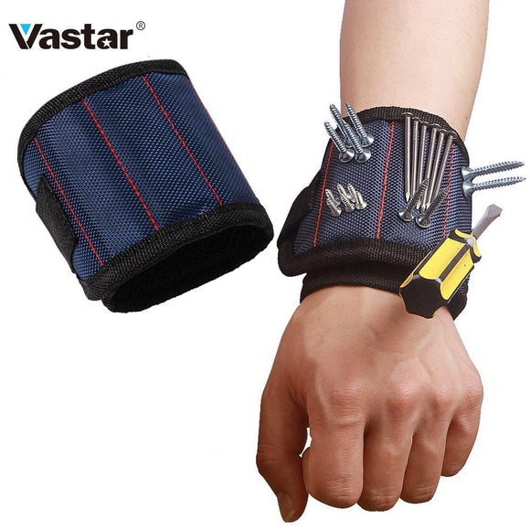 Vastar Polyester Magnetic Wristband Portable Tool Bag