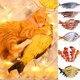 Artificial Fish Plush Pet Cat Puppy Dog Toys