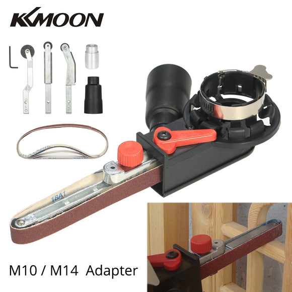 Mini DIY Sanding Belt Head electric drill angle Grinder Machine