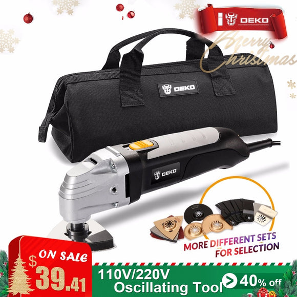 Variable Speed Electric Multifunction Oscillating Tool Kit