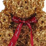 Bear Soap Artificial Silk Flowers Valentine Day
