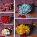 Valentine Rose Gifts Box Flower Rose Flower Soap Valentine's Gift