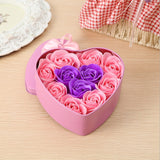 Valentine's Day Artificial Soap Flowers Rose Heart Shaped Valentine's Day