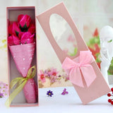 Artificial Flower Storage Box Gift Anniversary Gifts Flowers Valentines Day