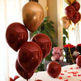 50 pcs Double Layer Red Balloons Romantic  for Wedding Valentine's Day