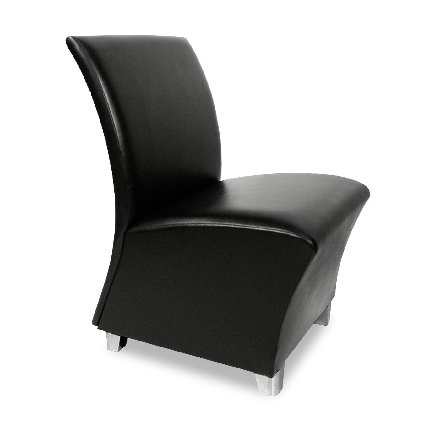 Lanai Reception Chair on Legs - Collins