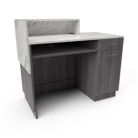 iMale Asymmetrical Desk - Collins