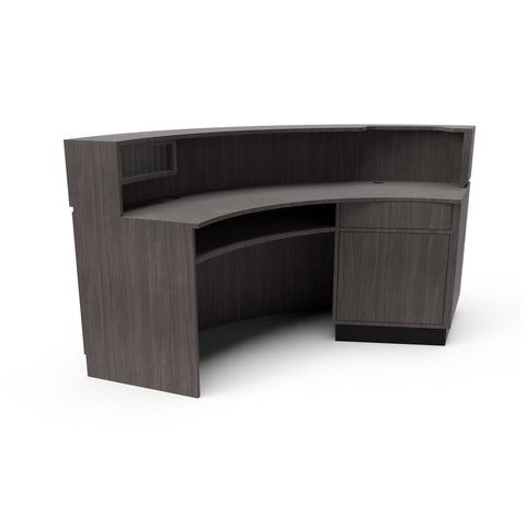 Millenium Curved Desk - Collins