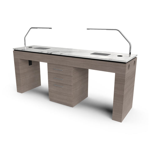 Ducted Table for Two - Collins
