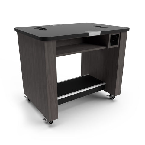 Double Sided Portable Combo Desk / Mannequin Workstation for Two Students - Collins