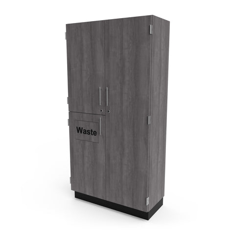 Waste/Broom Cabinet - Collins