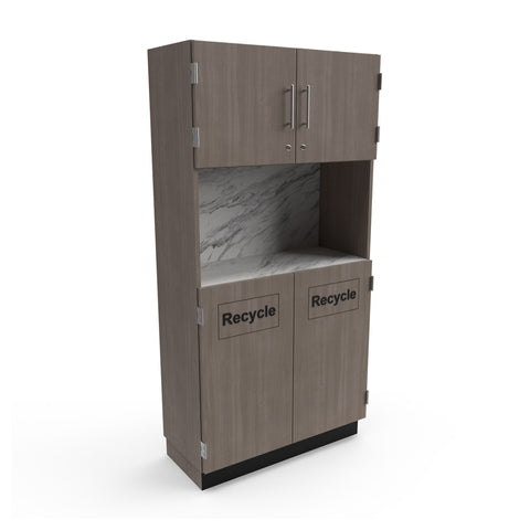 Recycle Storage Cabinet - Collins