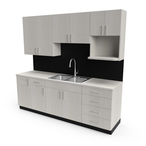 Breakroom Cabinetry - Collins