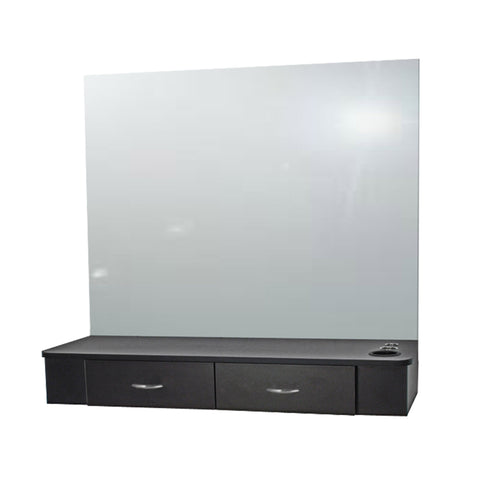 "Cameo 48"" Wall-Mounted Styling Station - Collins"
