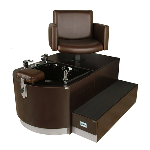 Cigno Stainless Pedicure Unit - Collins