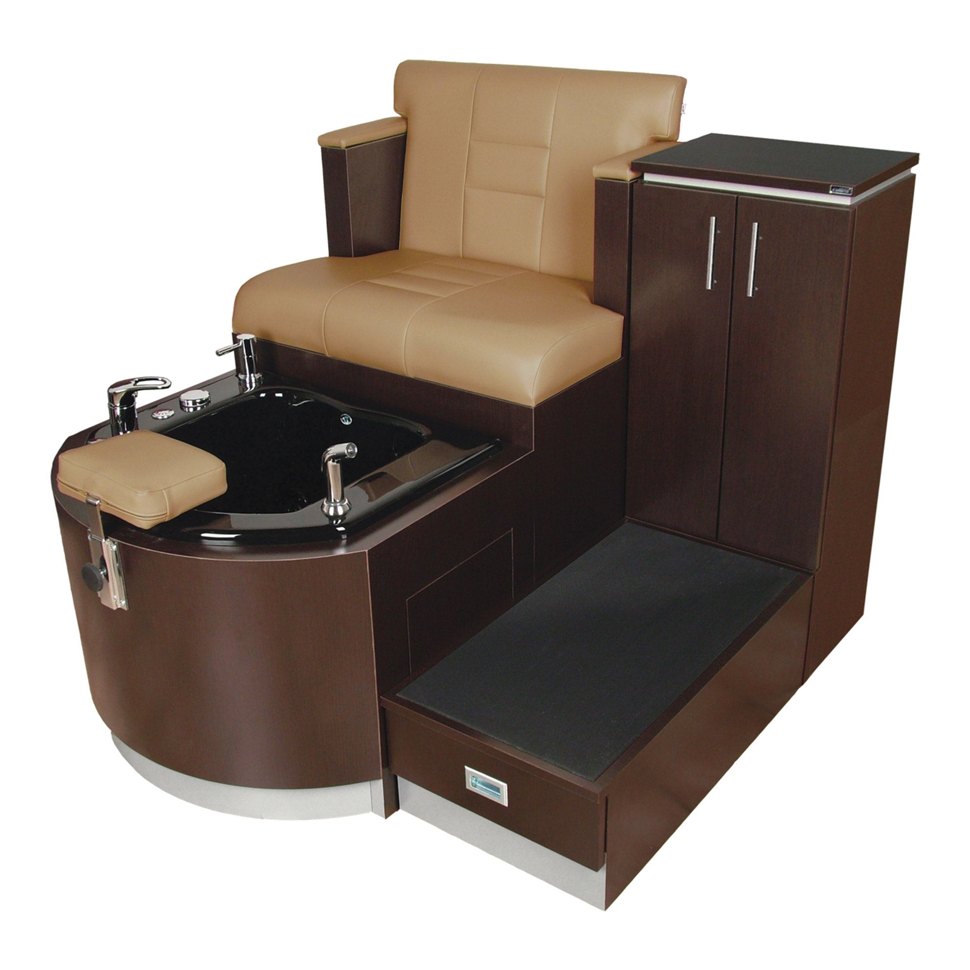 Kelsey Stainless Pedicure Unit - Collins