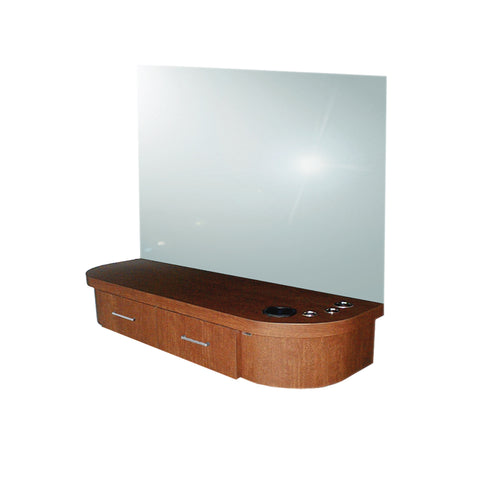 QSE Deluxe Wall-Mounted Styling Station - Collins