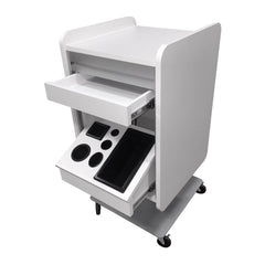 Kurve Portable Pedestal Styling Station - Collins