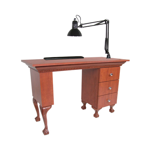 Bradford Dentil Manicure Table - Collins
