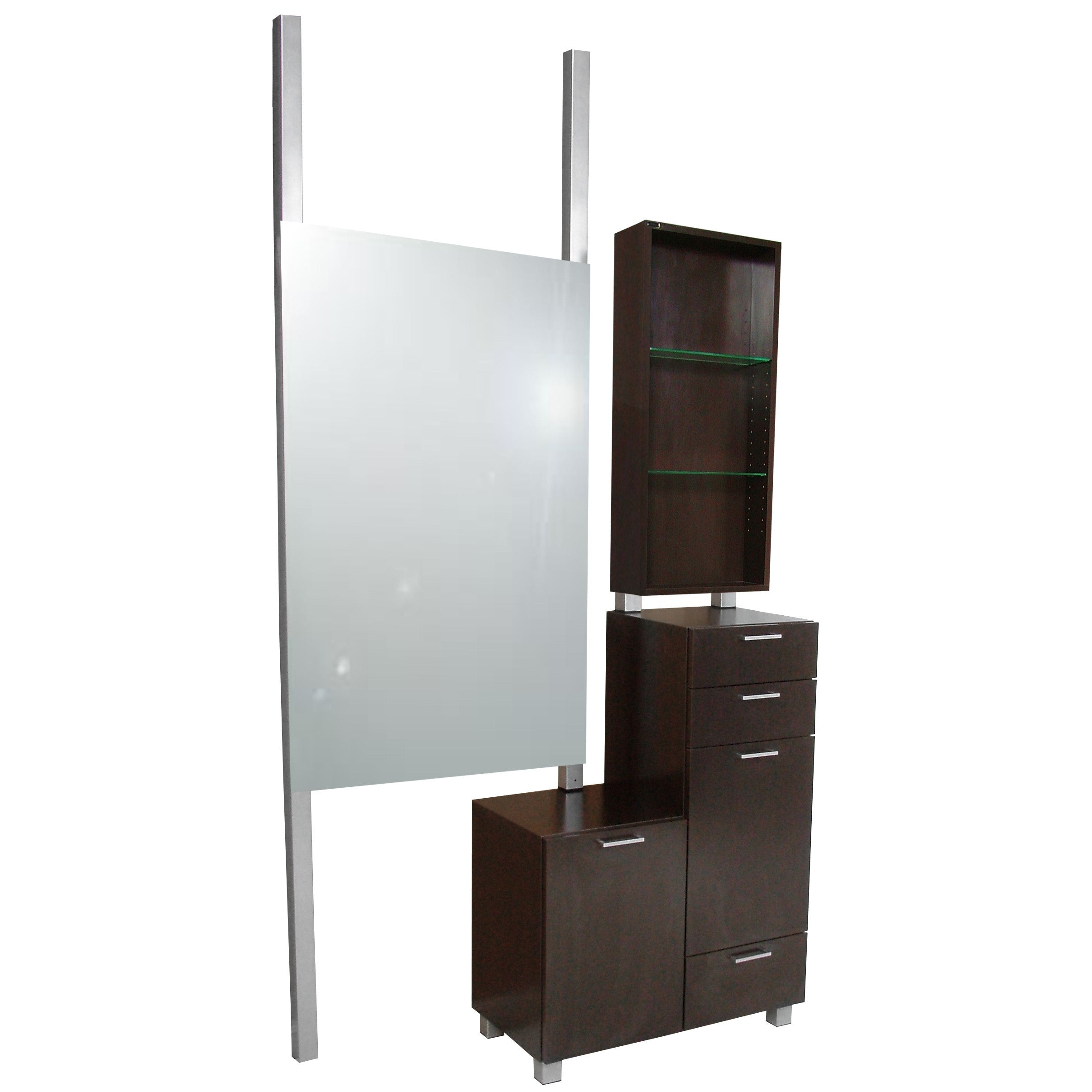 Amati Bi-Level Styling Vanity with Retail - Collins