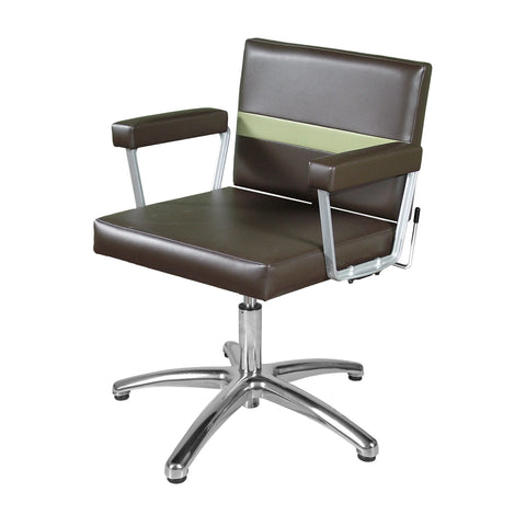 Taress Lever-Control Shampoo Chair - Collins