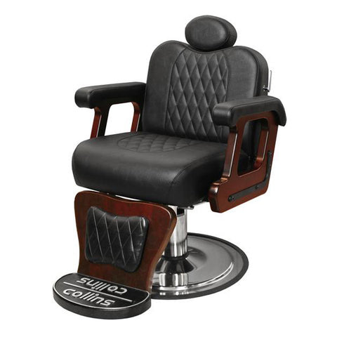 Commander Premium Barber Chair - Collins