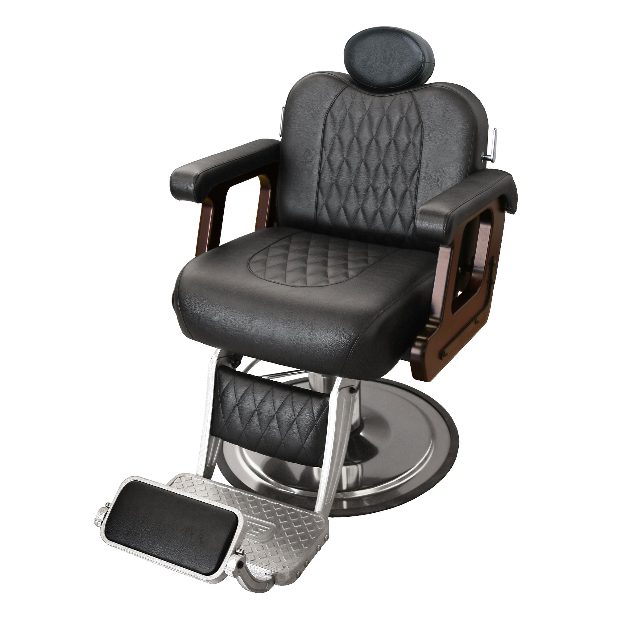Commander Supreme Barber Chair - Collins