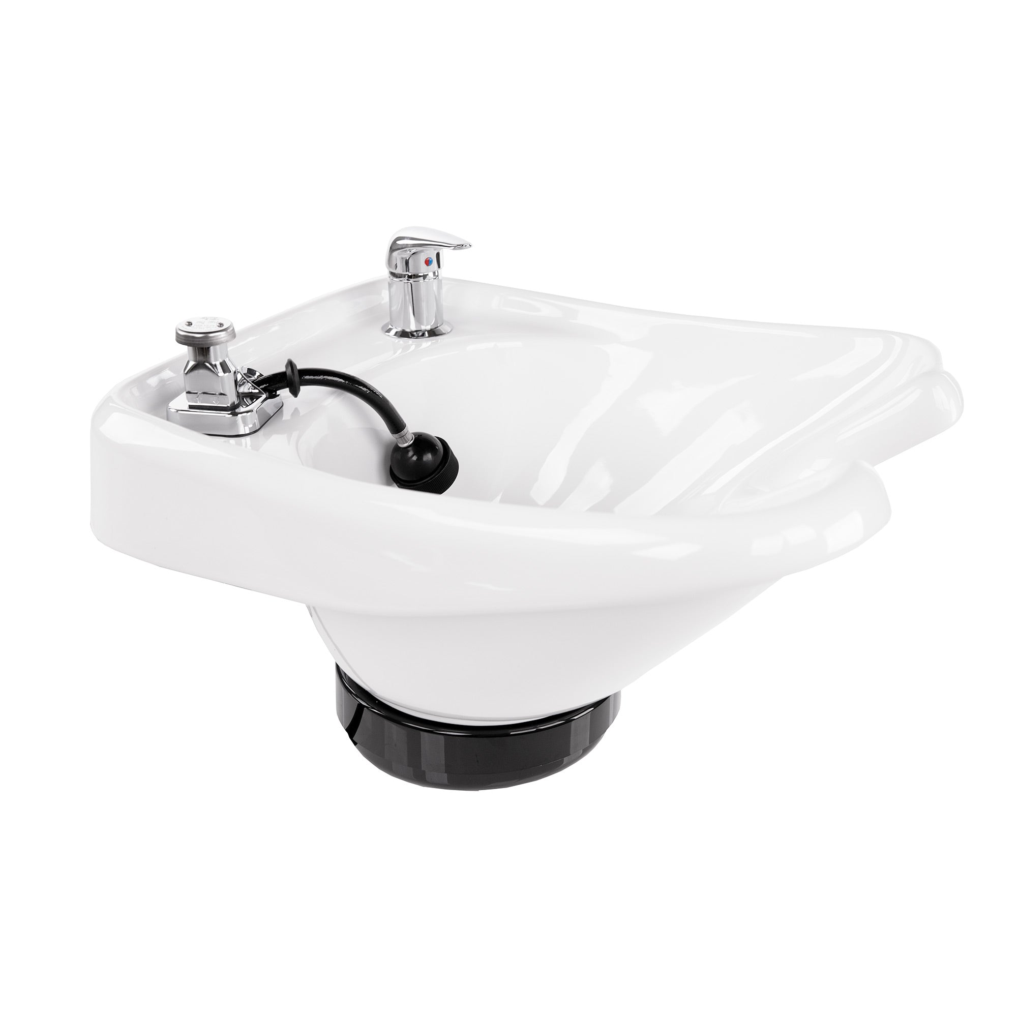 Porcelain Tilting Shampoo Bowl - Collins - Salon Equipment and Barber Equipment