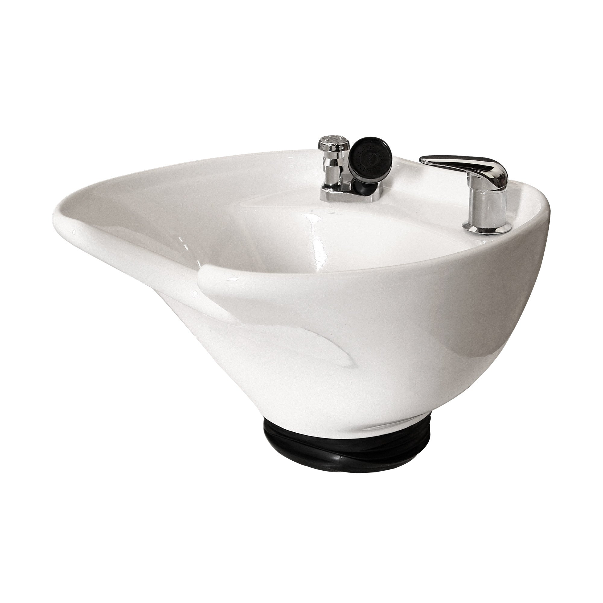 ERGO Porcelain Tilting Shampoo Bowl - Collins