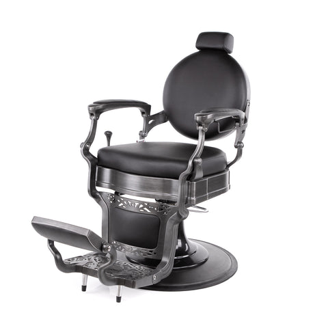 Princeton Barber Chair - Brushed - Collins