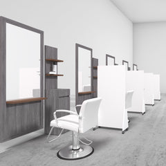 Collins Partition Panels - Collins - Salon Equipment and Barber Equipment