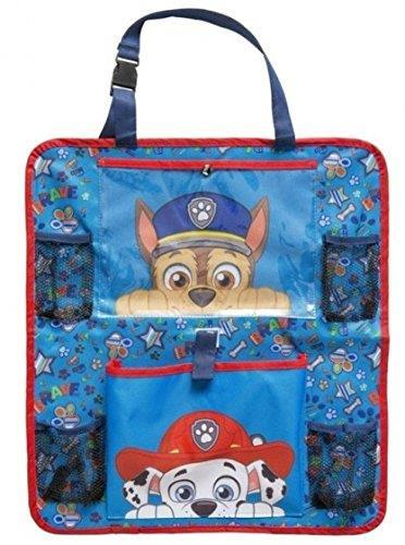Paw Patrol Children Car Organiser Straps To Back Of Seat